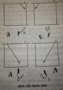 bước đơn bóng bàn